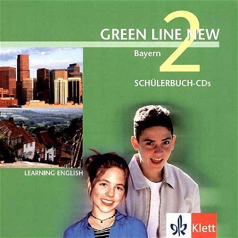Green Line New 2 - Ausgabe Bayern: Englisches Unterrichtswerk für Gymnasien - Rosemary Hellyer-Jones [2 CDs]