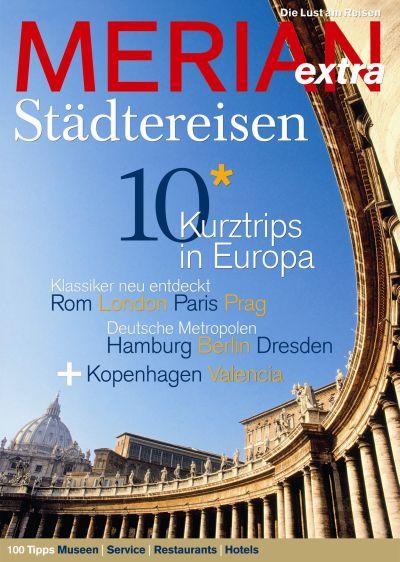 Merian extra Städtereisen: Europa für Entdecker...