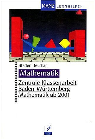 Zentrale Klassenarbeit Baden-Württemberg Mathem...