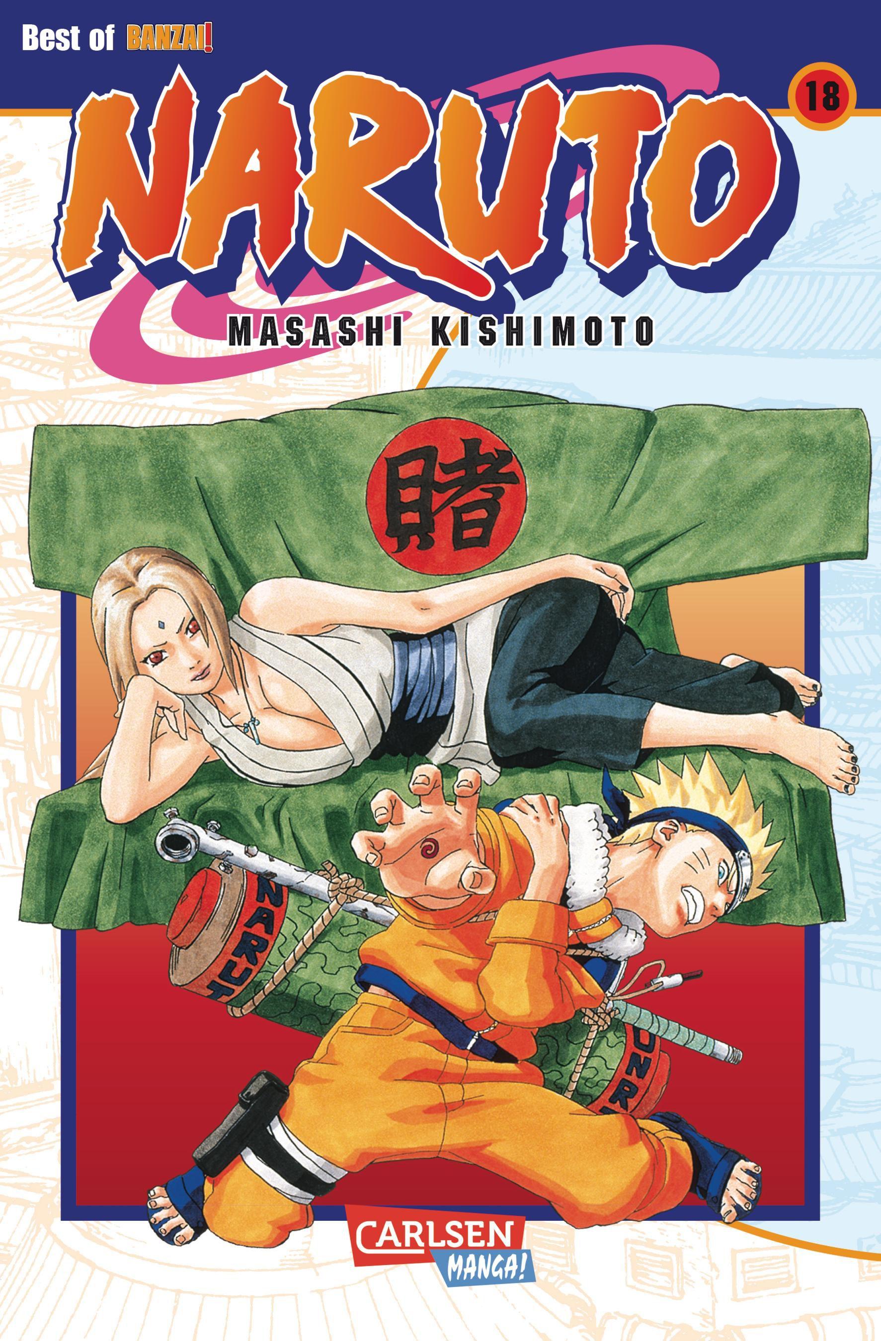Naruto: 18 Band - Masashi Kishimoto