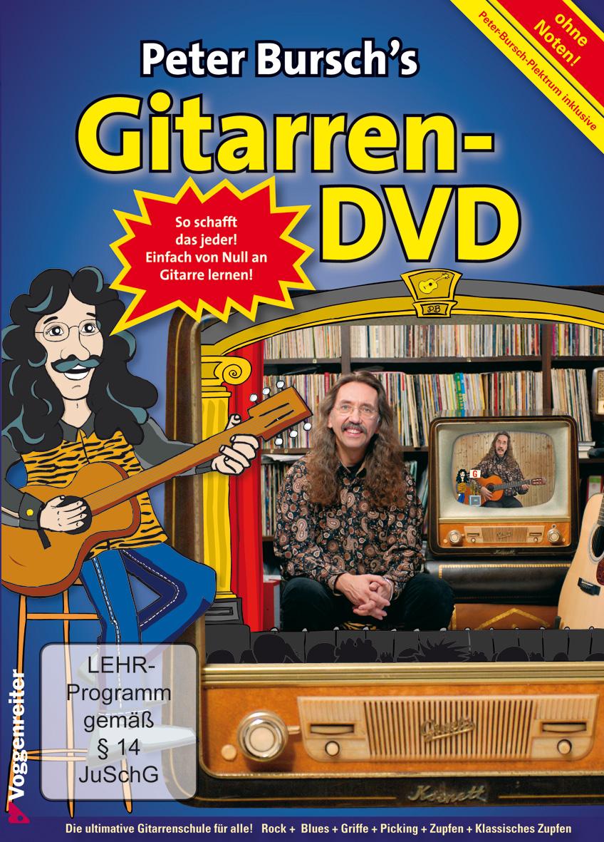 Peter Bursch´s Gitarren-DVD - Peter Bursch
