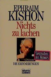 Nichts zu lachen - Ephraim Kishon