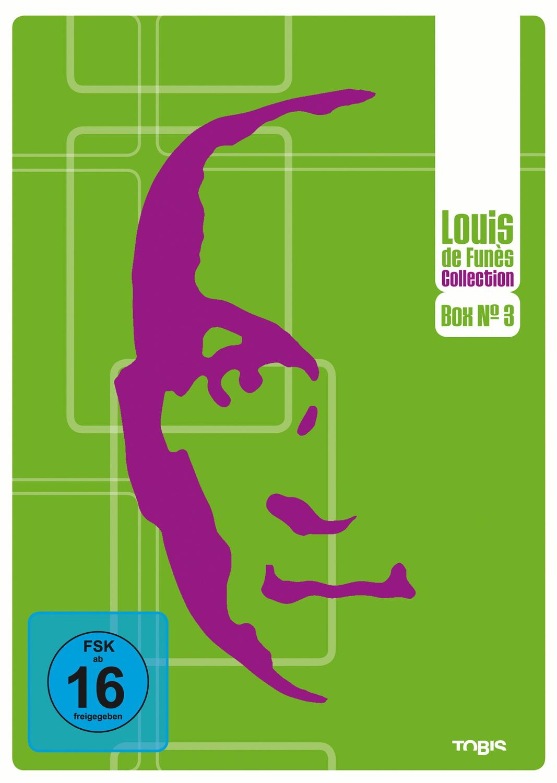 Louis de Funès DVD Collection Box No. 3 (3 DVDs)