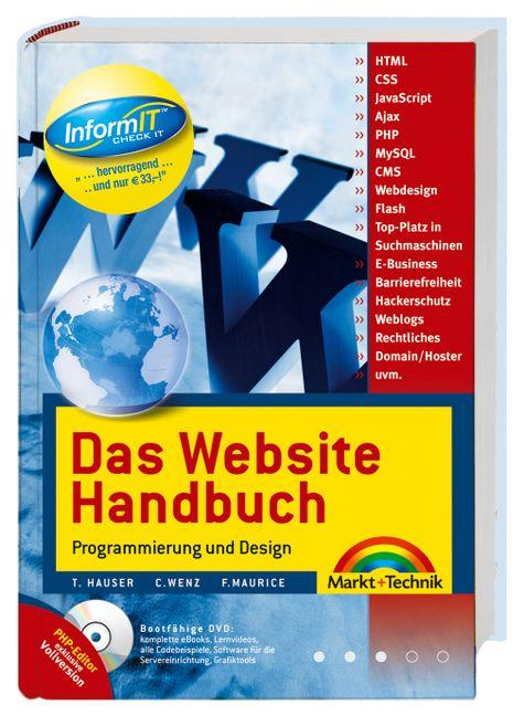 Das Website Handbuch. Programmierung und Design...