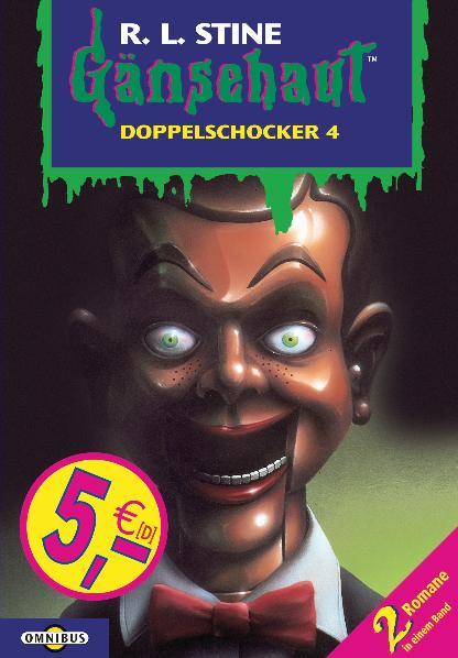 Gänsehaut Doppelschocker - Band 4: Es summt und brummt und sticht / Die Puppe mit dem starren Blick - R.L. Stine [2 Romane in einem Band]