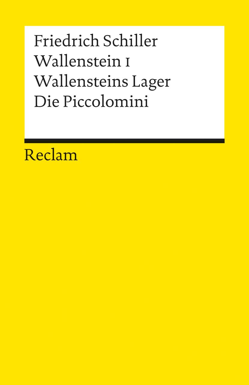 Reclam Universal-Bibliothek, Nr.41, Wallenstein I. - Friedrich von Schiller