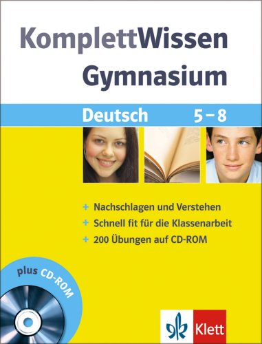 Komplett-Wissen Gymnasium. Deutsch 5. - 8. Schu...