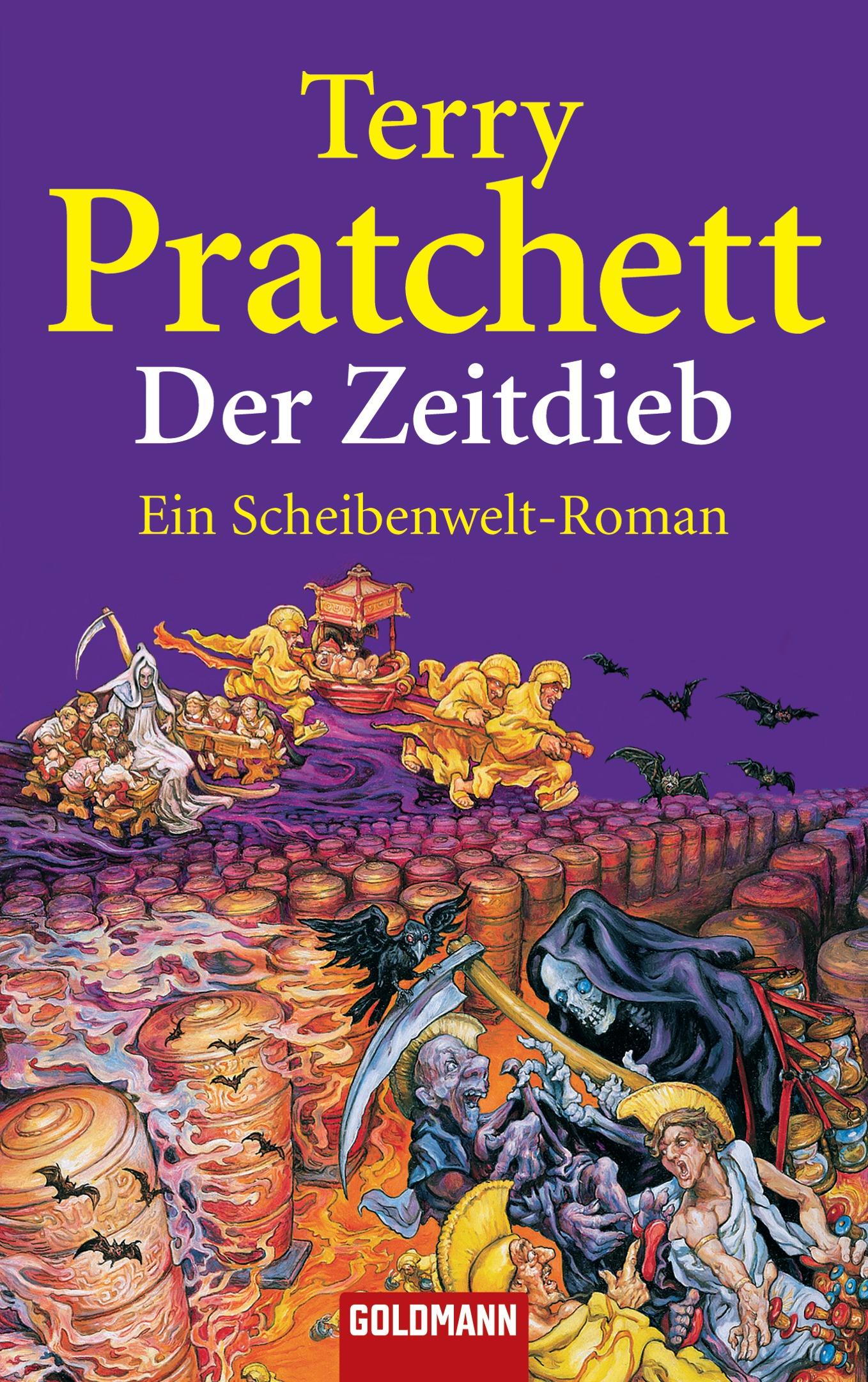 Der Zeitdieb: Ein Scheibenwelt-Roman - Terry Pratchett