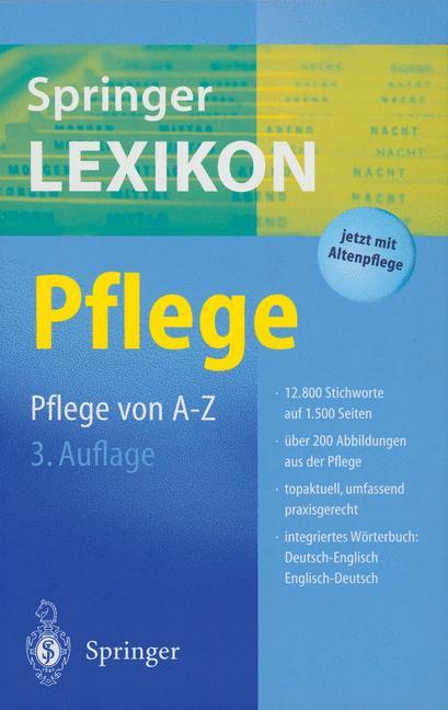 Springer Lexikon Pflege - Angie Dröber