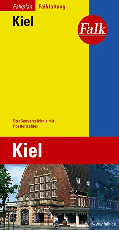 Falkplan Falk-Faltung Kiel - Falk Kartografie