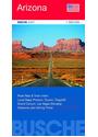 Straßenkarte USA: Arizona 1 : 825 000. Straßenkarte: Town Index. Local Maps Phoenix, Tucson, Flagstaff, Grand Canyon, Las Vegas (Nevada). Distances and Driving Times