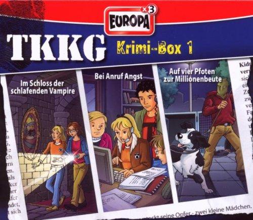 TKKG - Krimi-Box: Folgen 117 / 120 / 133 [3er Box]