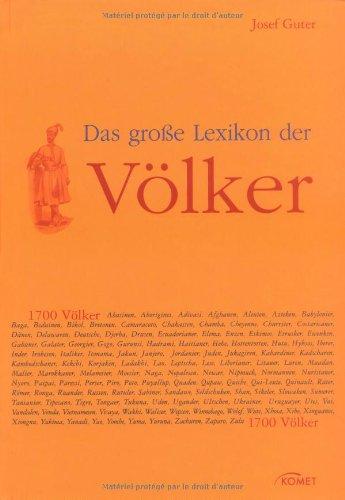 Das große Lexikon der Völker - Josef Guter