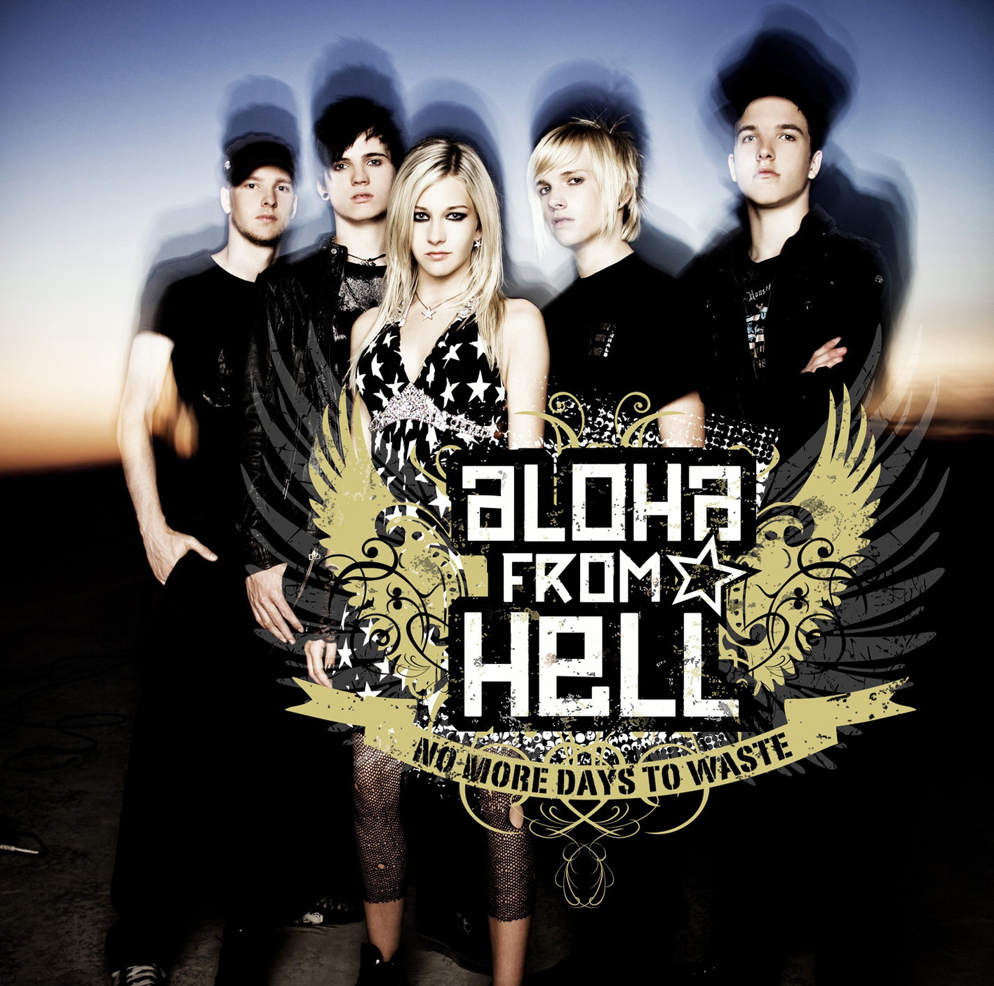 Aloha from Hell - No More Days To Waste - Ltd. Fan-Edition im Digipak mit extra Poster + erweitertem Tracklist