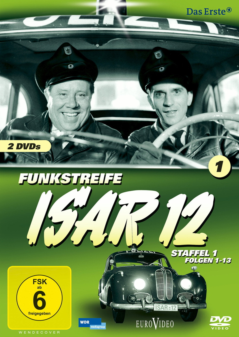 Funkstreife ISAR 12 - Staffel 1 Folgen 1-13 (s/w)