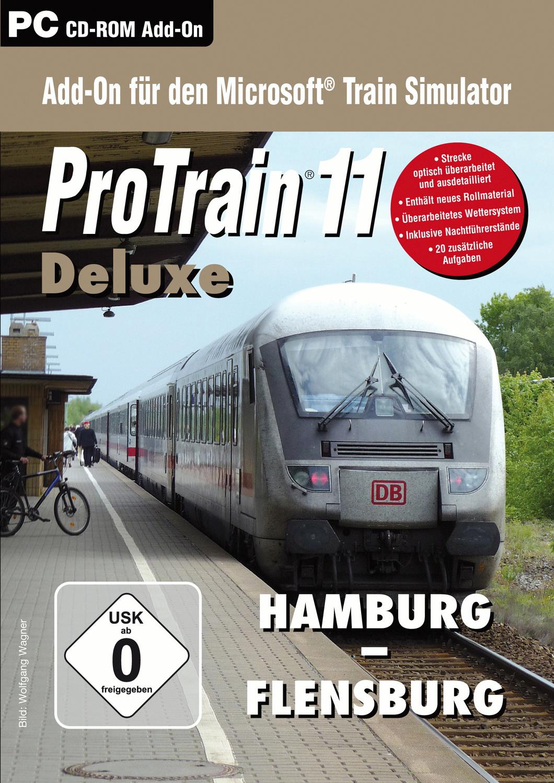 ProTrain 11 Deluxe: Hamburg - Flensburg