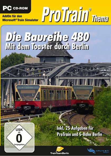 ProTrain Thema BR 480 Mit dem Toaster durch Berlin