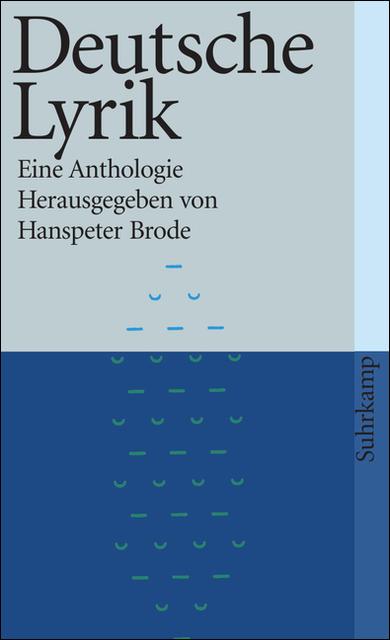 Deutsche Lyrik: Eine Anthologie