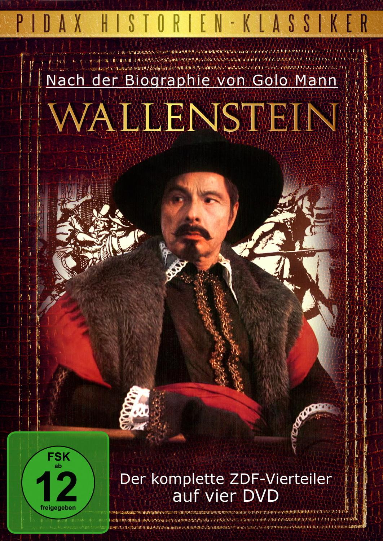 Wallenstein - Der legendäre Vierteiler nach der Biografie von Golo Mann (4 DVDs)