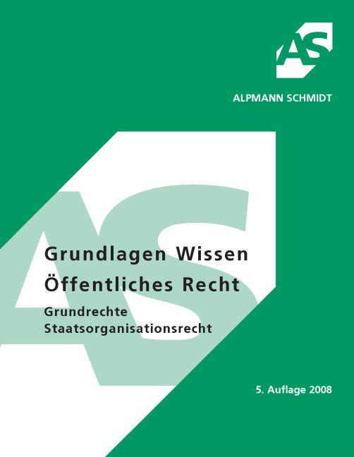 Grundlagen Wissen Öffentliches Recht, Grundrech...