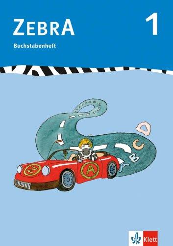 Zebra 1 - Buchstabenheft (Lernmaterialien) - Stephanie Brettschneider