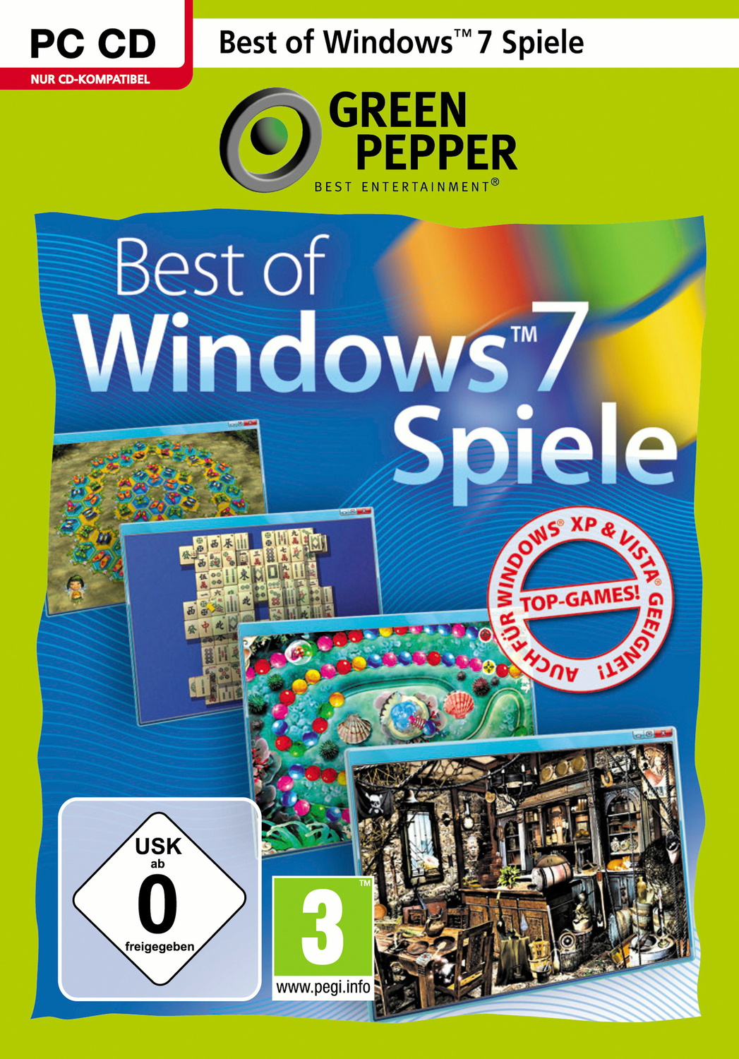 Best of Windows 7 Games Collection