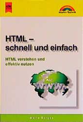 Heyne Kompakt Info Nr.73: HTML, schnell und ein...