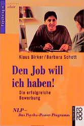 Den Job will ich haben - Klaus Birker