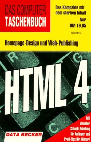 HTML 4 - Ralph Steyer