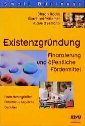 Existenzgründung: Finanzierung und öffentliche ...