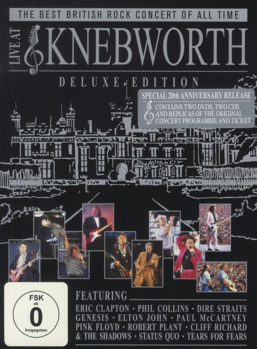 Live at Knebworth - Special Limited Deluxe Edition