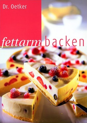 fettarm backen - Oetker