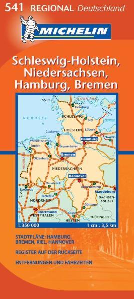 Michelin Karten, Bl.541 : Schleswig-Holstein, H...