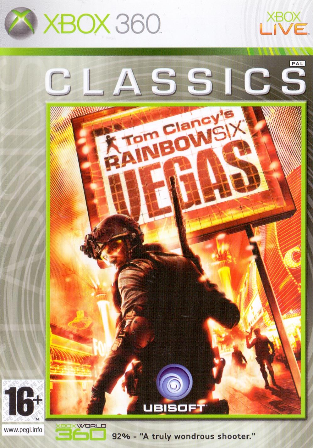 Tom Clancy´s Rainbow Six: Vegas [Classics, Internationale Version]