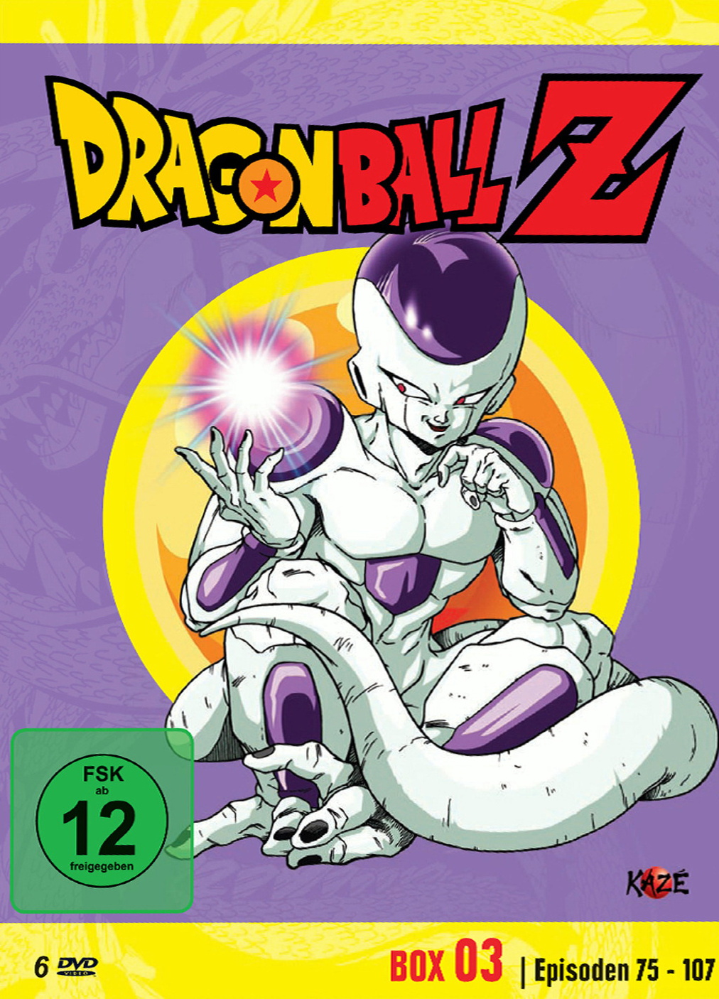 Dragonball Z - Box 3/10 [6 DVDs]