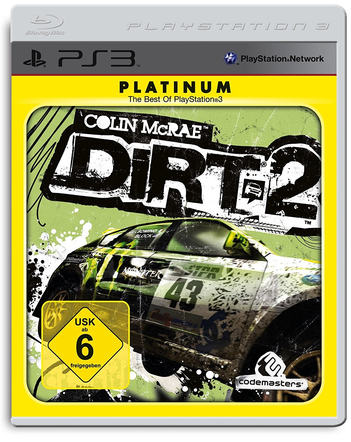 Colin McRae DIRT 2 Platinum