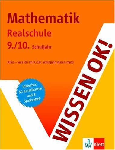 Wissen ok! Mathematik. 9./10. Schuljahr Realsch...