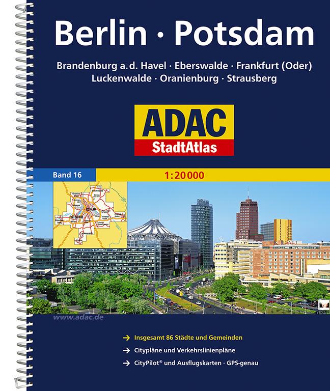 ADAC StadtAtlas: Berlin / Potsdam mit Brandenbu...