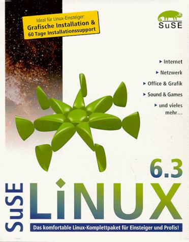 SuSE Linux 6.3, CD-ROM, dtsch. Ausgabe: 1999.