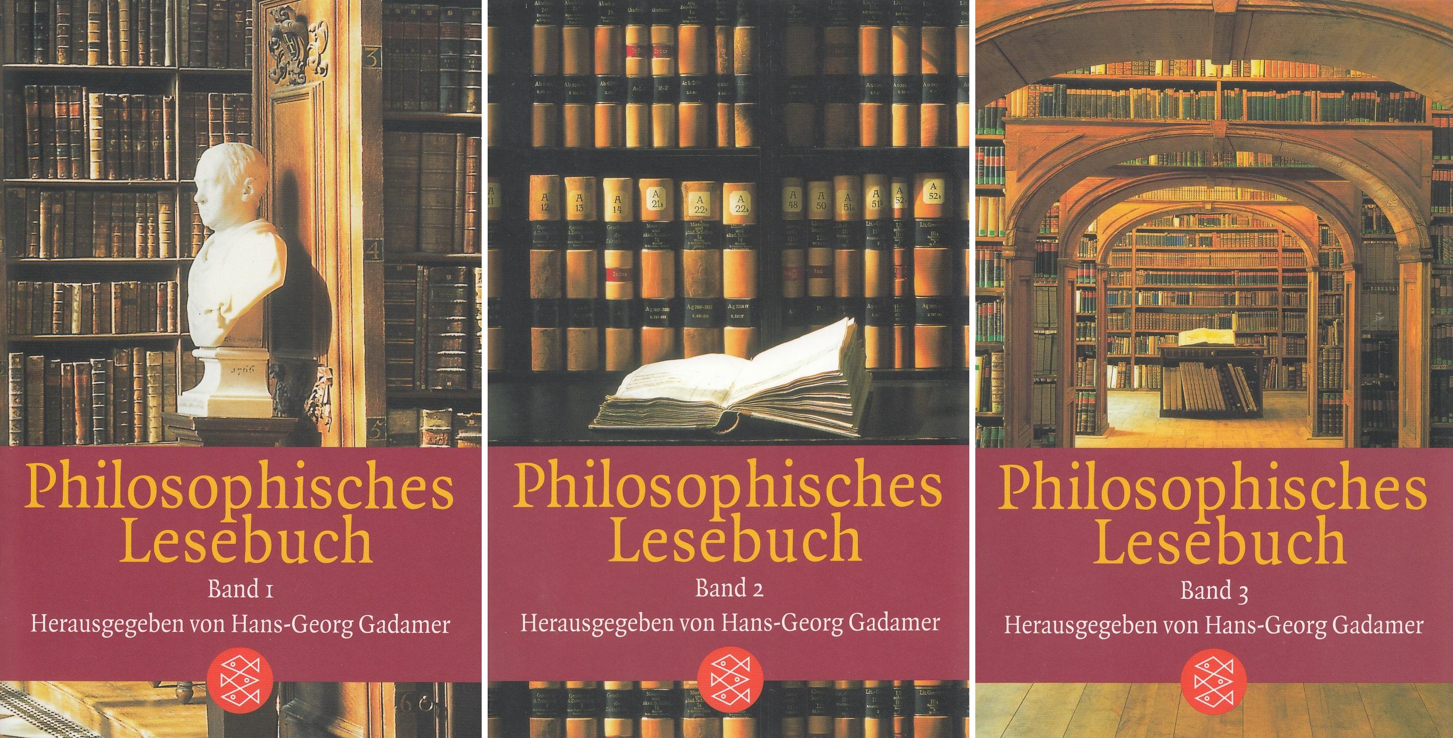 Philosphisches Lesebuch, 3 Bde.