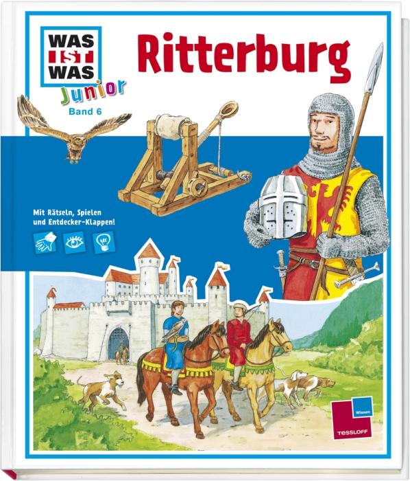 Was ist Was Junior: Ritterburg - Band 6 - Eva Dix