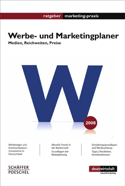 Werbe- und Marketingplaner - Peter Hanser