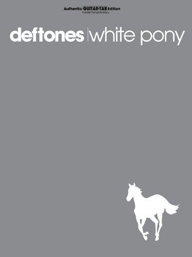 White Pony: Authentic Guitar Tab - Deftones