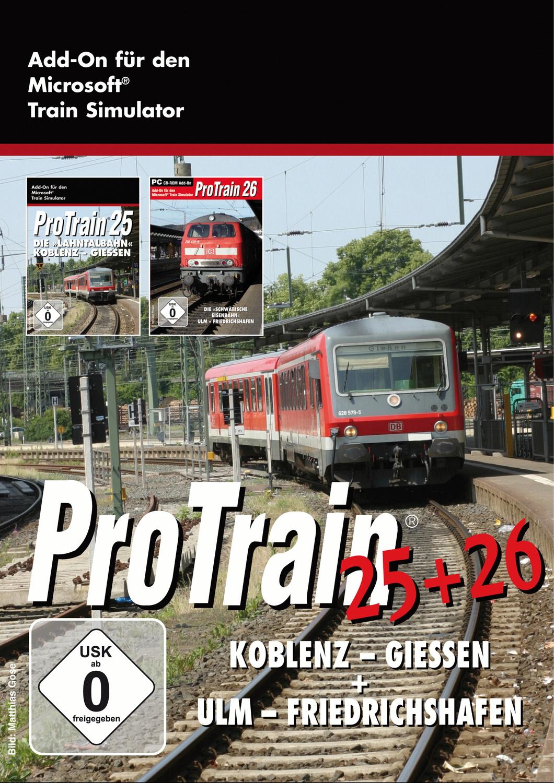 ProTrain Bundle 25 & 26 (Koblenz - Giessen & Ul...