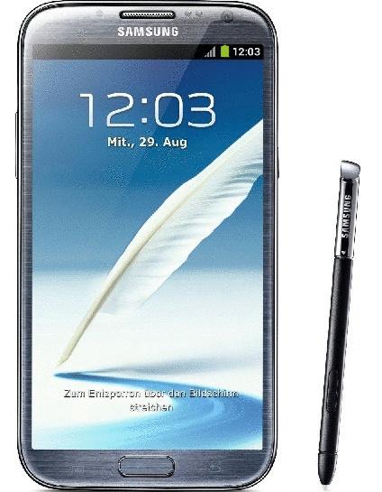 Samsung N7100 Galaxy Note II 16GB titanium gray