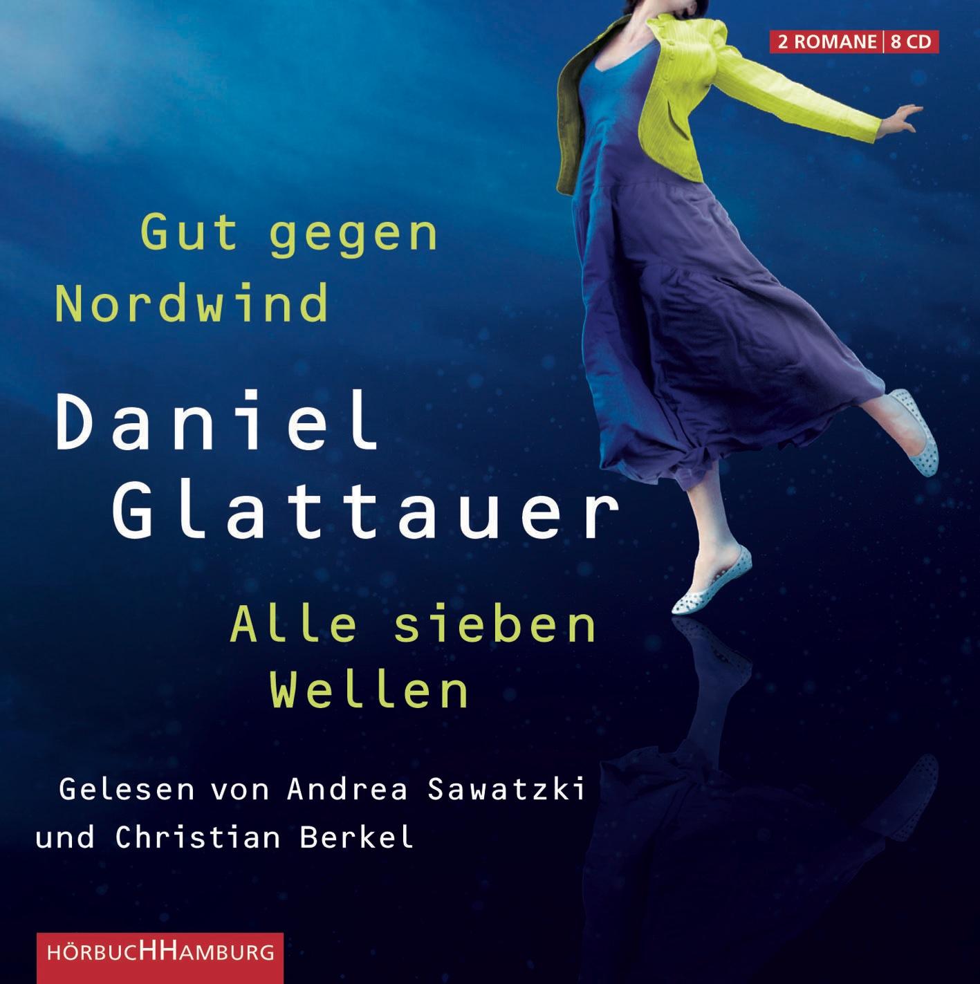 Gut gegen Nordwind / Alle sieben Wellen - Daniel Glattauer [8 Audio CDs]