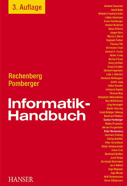 Informatik-Handbuch - Peter Rechenberg