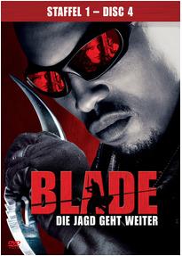 Blade: Die Jagd geht weiter - Staffel 1 / Disc 4