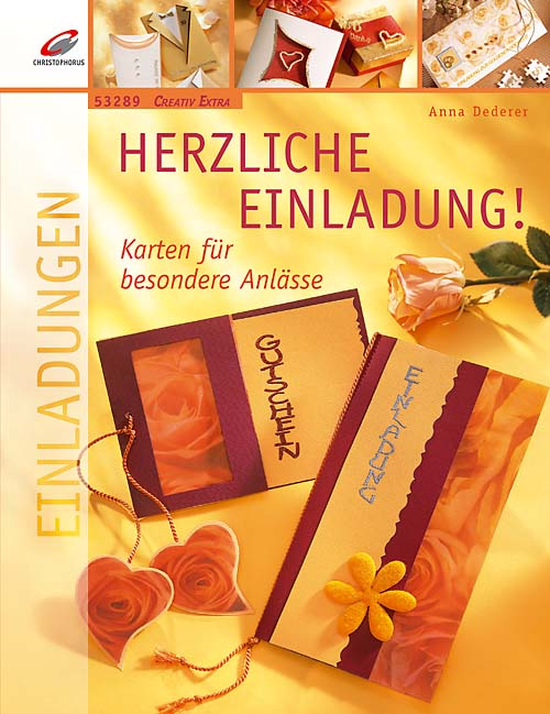 Herzliche Einladung - Karten für besondere Anlä...