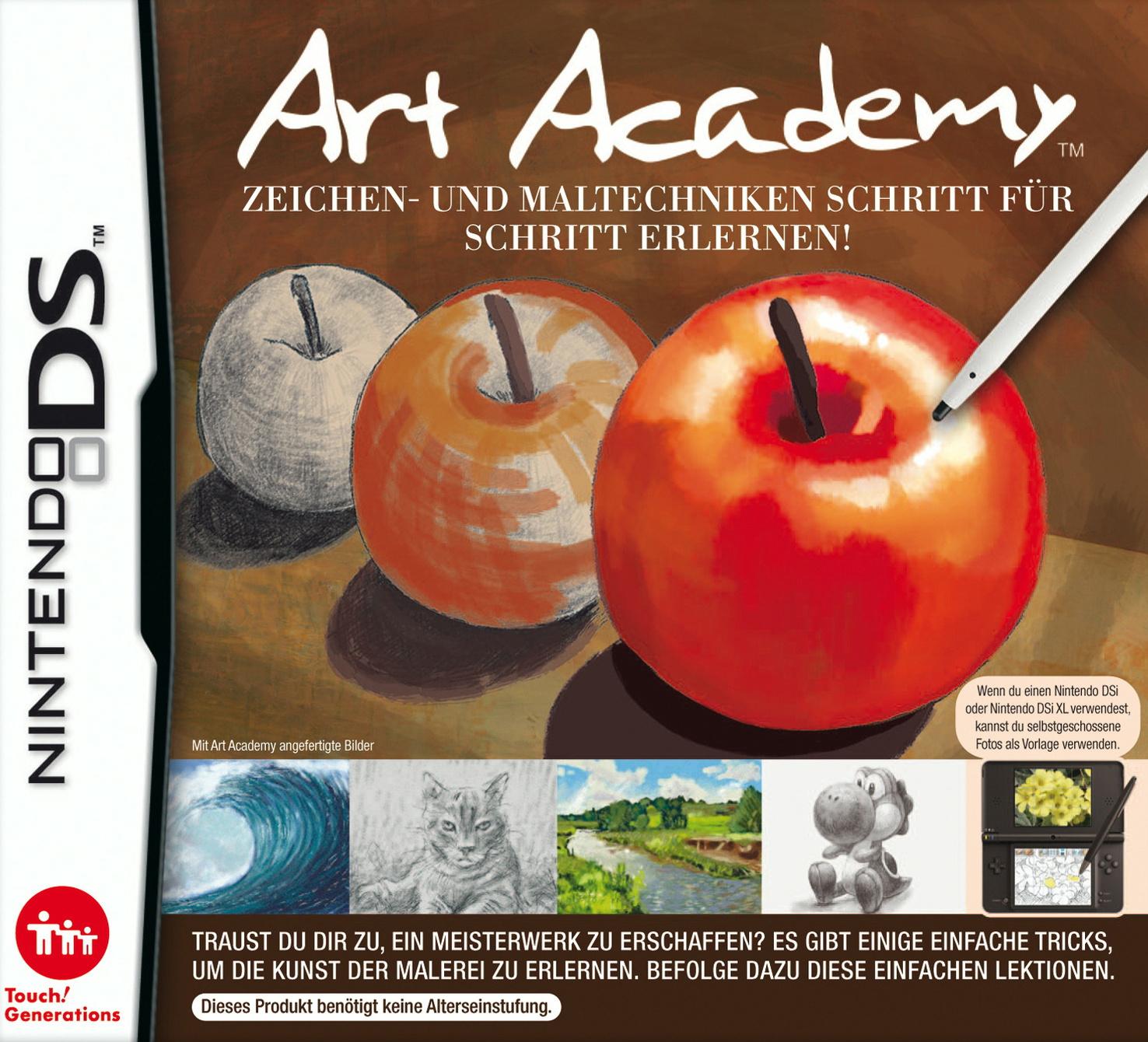 Art Academy: Zeichen und Maltechniken